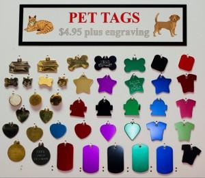 pet tag varieties