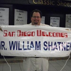 san diego welcomes william shatner